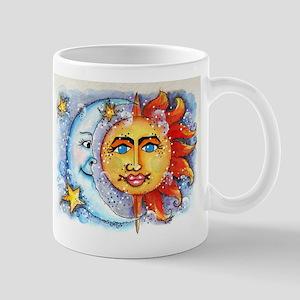 Celestial Sun and Moon Mug