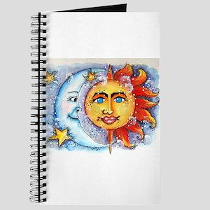 Celestial Sun and Moon Journal