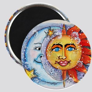 Celestial Sun and Moon Magnet