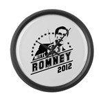 Romney 2012 Large Wall Clock