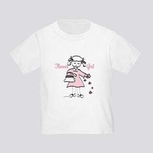 Flower Girl Pretty in Pink Toddler T-Shirt