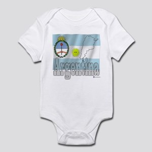 Silky Flag of Argentina Infant Creeper
