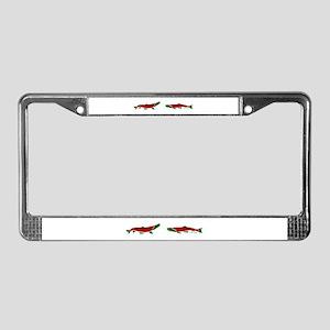 RedGreen License Plate Frame