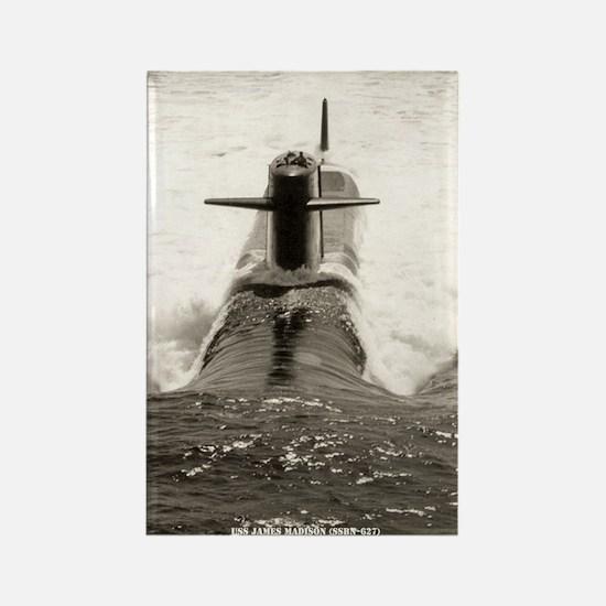 USS JAMES MADISON Rectangle Magnet