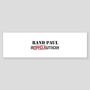 randpaulrevolution Sticker (Bumper)