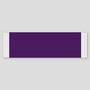 Purple Heart Sticker (Bumper)