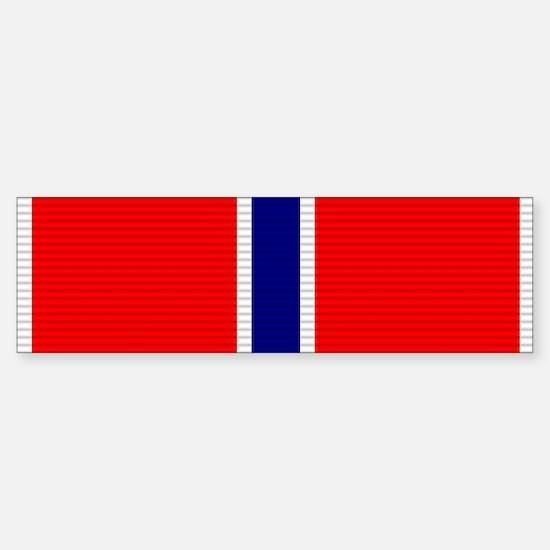 Bronze Star Medal Sticker (Bumper)