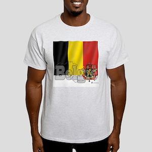 Silky Flag of Belgie Light T-Shirt