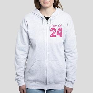 Class of 2024 Gift Women's Zip Hoodie