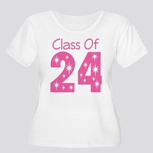 Class of 2024 Gift Women's Plus Size Scoop Neck T-