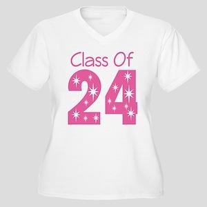 Class of 2024 Gift Women's Plus Size V-Neck T-Shir