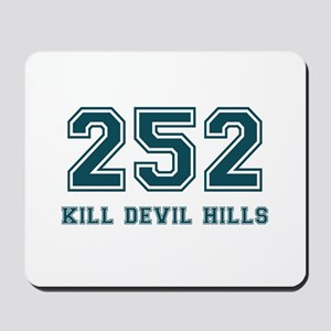 Kill Devil Hills Area Code Mousepad