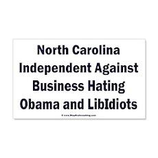 North Carolina Independent Wall Decal