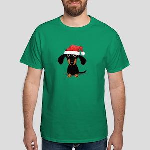 Doxie Clause Dark T-Shirt