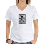 Australian Cattle Dog Women's V-Neck T-Shirt