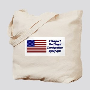 Immigration Relief Tote Bag