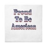 Proud to be American Queen Duvet