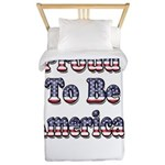 Proud to be American Twin Duvet