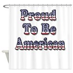 Proud to be American Shower Curtain