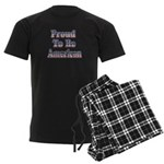 Proud to be American Men's Dark Pajamas
