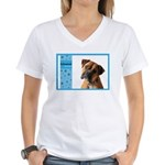 Boxer Women's V-Neck T-Shirt