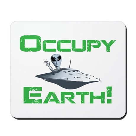 Occupy Earth! Mousepad