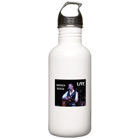 Darren Block Live Stainless Water Bottle 1.0L