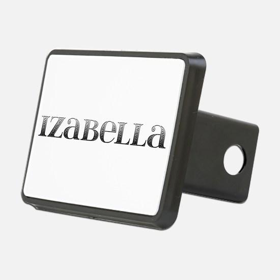 Izabella Carved Metal Hitch Cover