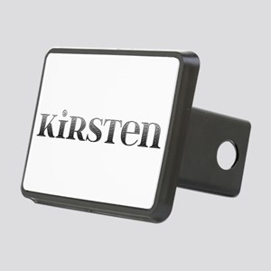 Kirsten Carved Metal Rectangular Hitch Cover
