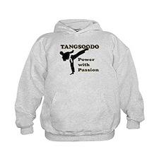 Tangsoodo Power with Passion Kids Hoodie