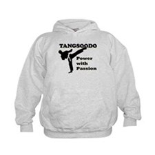 Tangsoodo Power with Passion Kids Hoodie