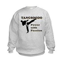 Tangsoodo Power with Passion Kids Sweatshirt