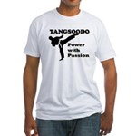Tangsoodo Power with Passion Fitted T-Shirt