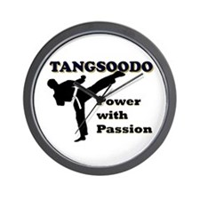 Tangsoodo Power with Passion Wall Clock