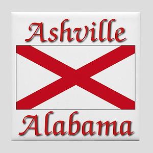 Ashville Alabama Tile Coaster