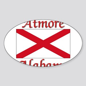 Atmore Alabama Sticker (Oval)