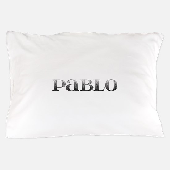 Pablo Carved Metal Pillow Case