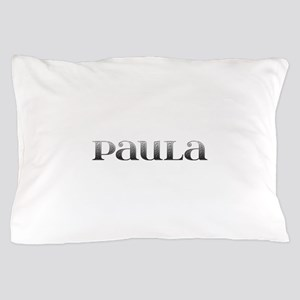 Paula Carved Metal Pillow Case