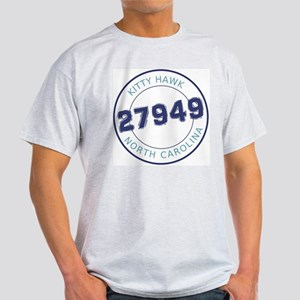Kitty Hawk Zip Code Light T-Shirt