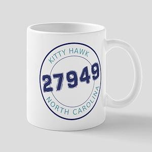 Kitty Hawk Zip Code Mug