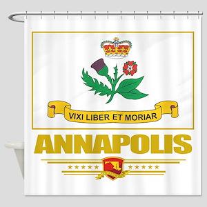 Annapolis (Flag 10) Shower Curtain
