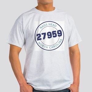 Nags Head Zip Code Light T-Shirt