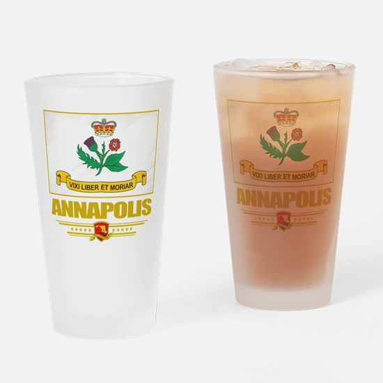 Annapolis (Flag 10).png Drinking Glass