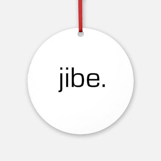 Jibe Ornament (Round)