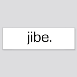 Jibe Bumper Sticker
