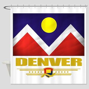 Denver (Flag 10) Shower Curtain