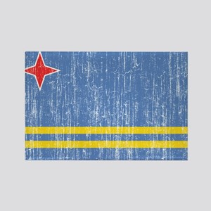 Aruba Flag Rectangle Magnet