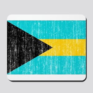 Bahamas Flag Mousepad