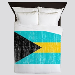 Bahamas Flag Queen Duvet