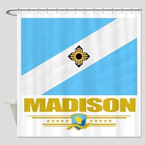 Madison (Flag 10) Shower Curtain